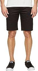 Publish Men's Kamron - Twill Shorts Black Shorts