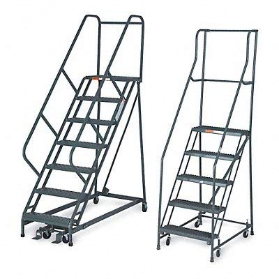 - Ega 50-Degree Stairway Slope Ladders With Square-Tube Frame: 9 Steps - 26