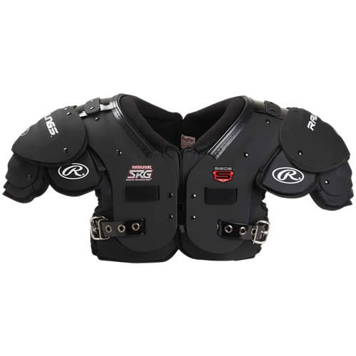 Rawlings Sge1 Siege Skill Position Shoulder Pads Adult X-Large