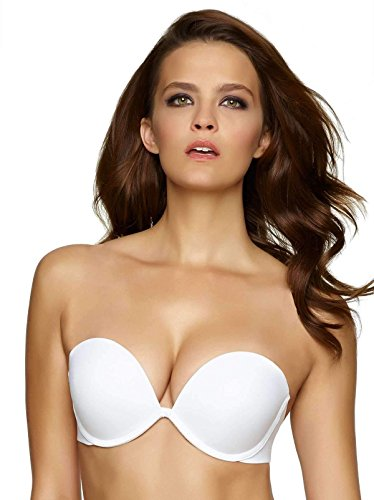 - Felina Women's Bra of The Year, White, 32C