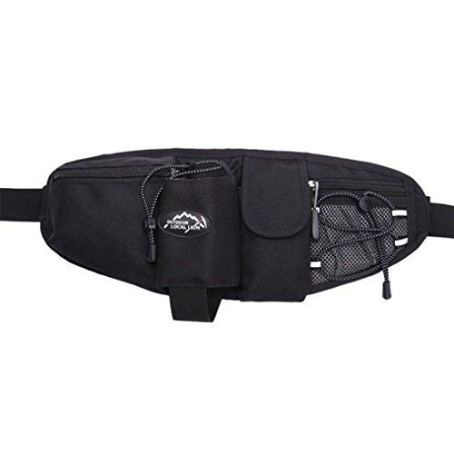 Outdoor Sports Waist Pack, American shield Hiking Running Nylon Waist Bag Mutifunction Waterproof Dayback Unisex Bags AS6124