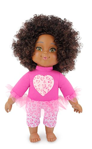 Search : Positively Perfect Kiara African American Toddler Doll, 14.5""