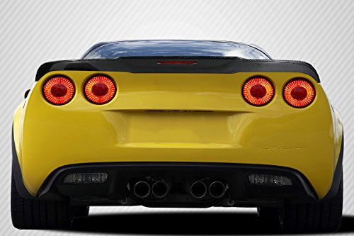 Carbon Creations Replacement for 2005-2013 Chevrolet Corvette C6 DriTech Champ Rear Wing Spoiler - 1 Piece