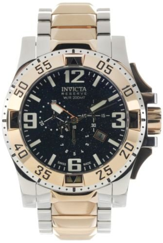 - Invicta Men's 0204 Reserve Collection Excursion Chronograph Stainless Steel Watch