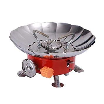 H&Living - Cabezal portátil para camping y horno, todo en uno ...