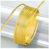 Efco 22 260 07 - Alambre para bisutería, color amarillo