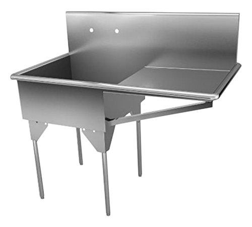 Compartment Square Corner Sink - 3
