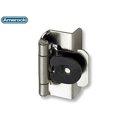 Ordinaire Amerock Double Demountable Hinge Sterling Nickel   CM8704G9