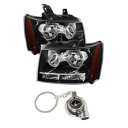 for Chevy Suburban 1500/2500 / for Chevy Tahoe/Avalanche Crystal Headlights