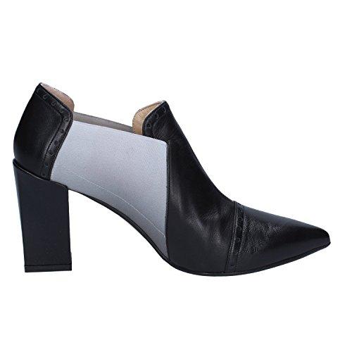 EU Womens GIANNI MARRA Leather Boots Ankle 40 Black X1XvwA4