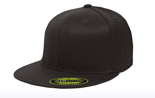 premium-original-blank-flexfit-flatbill-fitted-210-hat-xxl-black