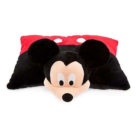 Mickey Mouse Plush Pillow Reversible Disney Original 20 Inch