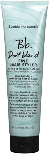 Bumble and Bumble Don't Blow It Hair Styler Fine 5 oz by Bumble and Bumble