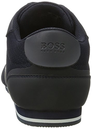 BOSS Green Lighter_lowp_mxme 10199225 01, Zapatillas para Hombre Azul (Dark Blue)