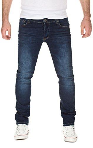 Yazubi Herren Jeans, Modell Edvin, blue denim (204), W29/L32
