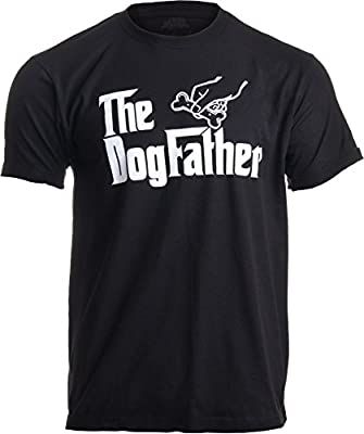 The Dogfather   Funny, Cute Dog Father Dad Owner Pet Doggo Pup Fun Humor T-Shirt
