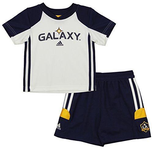 Outerstuff MLS Toddlers Los Angeles Galaxy Goal Keeper Tee & Short Set, 2T - La Galaxy Soccer Mls