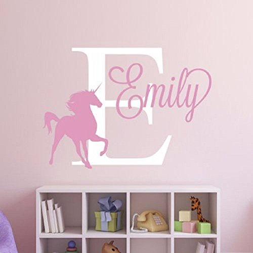 Custom-made-Special-Personalized-Custom-Name-Unicorn-horse-Removable-Decal-Vinyl-Wall-Sticker-For-Kids-Room-Wall-Decor-Home-Art-Mural-Decoration-you-choose-name