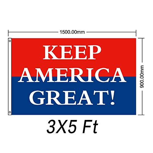Flyingflag,2020 New Trump Donald Election Flags 5x3 Feet Keep America Great Flag Banner Indoors Outdoors Banner (STYLE 4)