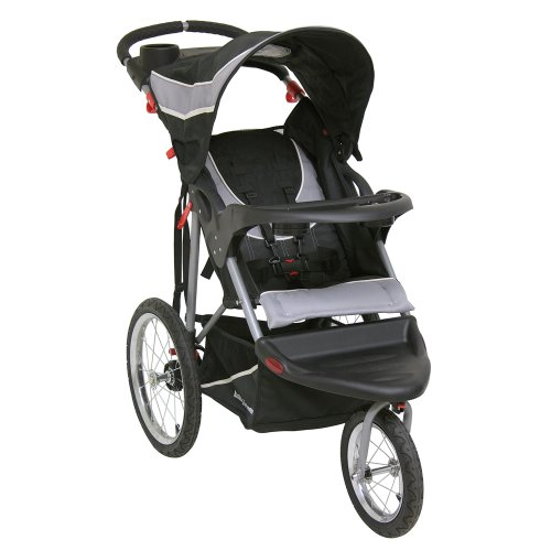 Fold Baby Stroller - Baby Trend Expedition Jogger Stroller, Phantom, 50 Pounds