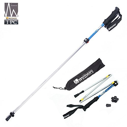 Collapsible Ultralight Adjustable Alpenstocks Backpacking product image
