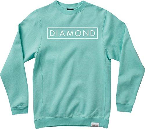 Diamond Future Crew M-Diamond Blue/White Sweatshirt