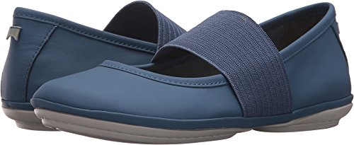 Camper Women's Right Nina 21595 Mary Jane Flat, Blue, 42 M EU (12 US)