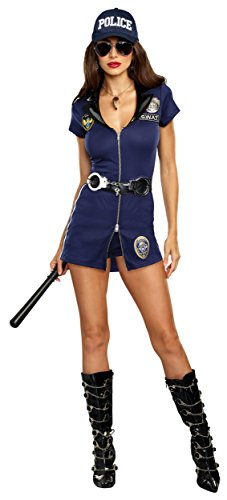 Dreamgirl Women's S.W.A.T. Team, Blue -
