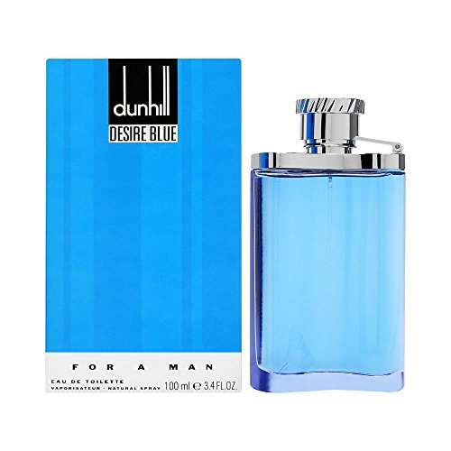 Alfred Dunhill Desire Blue Eau De Toilette Spray for Men, 3.4 Ounce