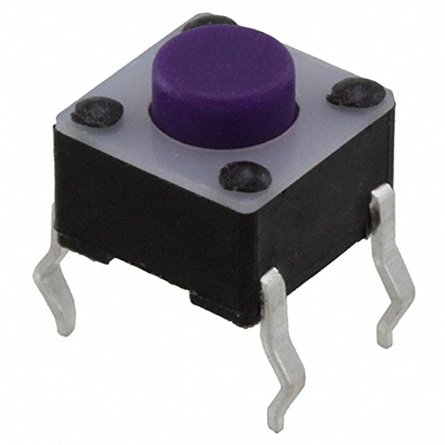SWITCH TACTILE SPST-NO 0.05A 12V (Pack of 100) (LL1105AF065Q) by E-Switch