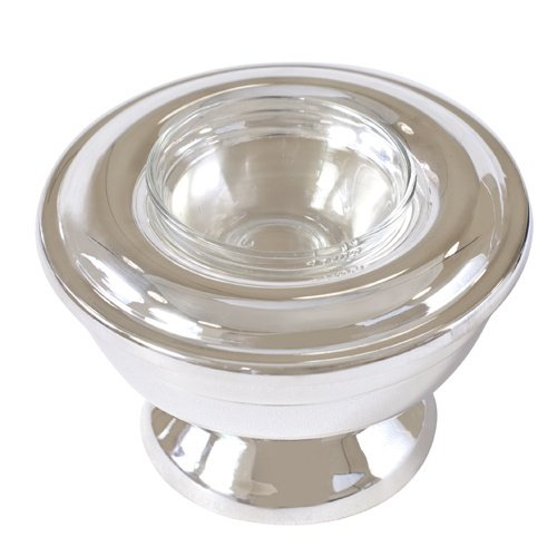 Sterling Silver Plated Caviar Server - 1 serving (Sterling Caviar)