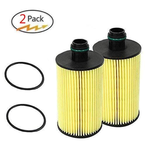 6822 9402AA Engine Oil Filter 44-LF035 PRO GUARD D2 Cherokee RAM 1500 Eco Diesel Oil Filter(2 pack)