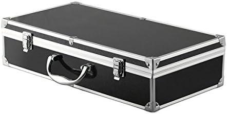 HELEISH Maleta de aluminio de Realacc que lleva la caja de la caja for Hubsan X4 H502S H502E RC Quadcopter Piezas de montaje de bricolaje