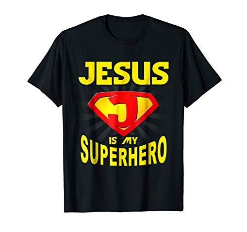 Jesus is My Superhero Funny Gift Christian -