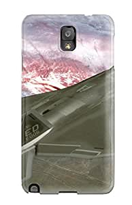 Fashion OuCoHVJ1892ZUWRH Case Cover For Galaxy Note 3(jet Fighter Military Man Made Military)