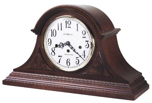 Glass Beaded Veneer Finishes - Howard Miller 630-216 Carson Mantel Clock