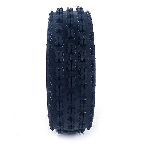 2Pcs MASSFX AT 19X7-8 4PR ATV/UTV Tires 16/7-8 Tubless Sport P327 Left, Right, Front 4PLY ATV Tires by Roadstar (Image #3)