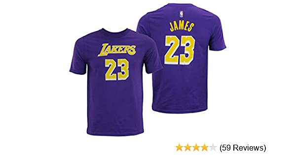 release date 9f6e4 2d677 NBA Youth Los Angeles Lakers Lebron James Player Tee, Pick A Color