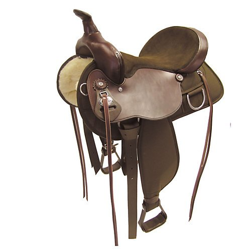 Fabtron Lady Trail Flex-Tree Western Saddle 15 (Lady Trail Saddle)