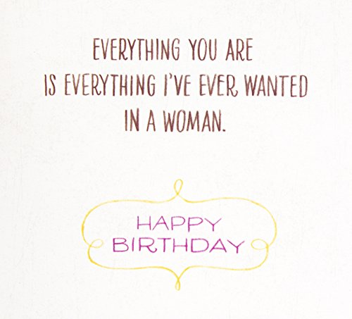 Hallmark Mahogany Birthday Greeting Card for Wife (Everything I've Ever Wanted) Photo #5