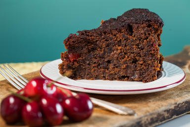 Jamaican Cherry Rum Cake (Large 9.75Dx2.5H) by Miss Cherry's Rum Cakes (Image #2)