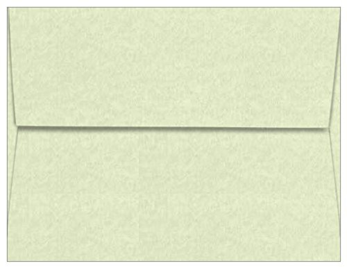 A2 Astroparche Celadon Envelopes - Straight Flap, 60T, 1000 Pack