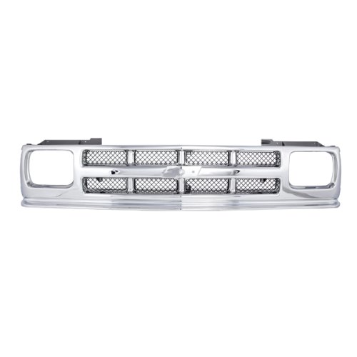 CarPartsDepot Grill Grille Assembly Front Chrome Gm1200326 15701945