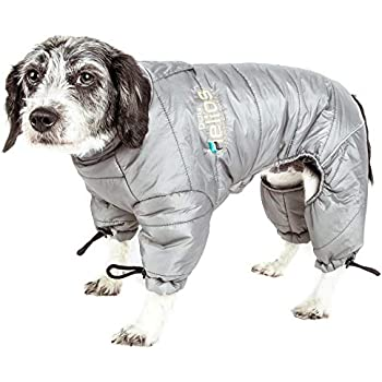 Amazon.com : Casual Canine Nylon Dog Snowsuit, X-Small, 8