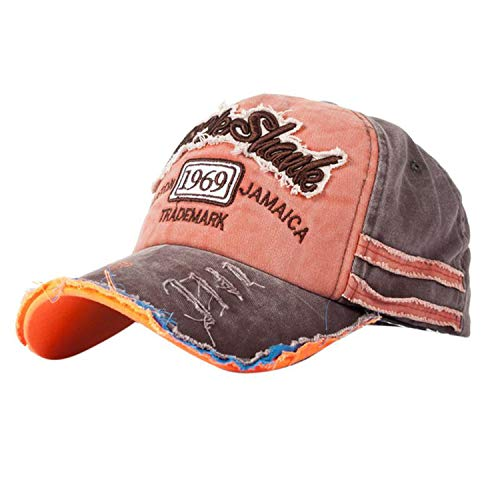 Retro Canvas Denim Letters Patchwork Baseball Cap Outdoor Adjustable Summer Autumn Hip Hop Casual Snapback Hat -