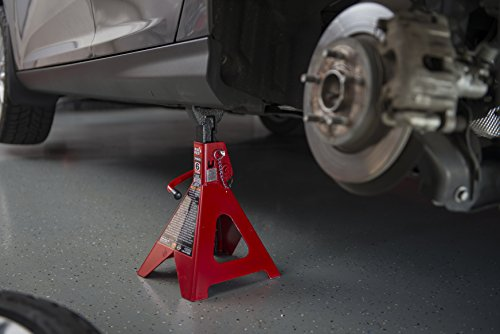 Torin Big Red Steel Jack Stands: Double Locking, 6 Ton Capacity, 1 Pair by Torin (Image #13)