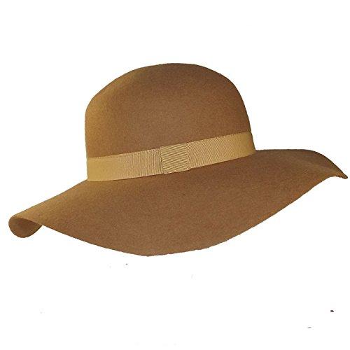Tendance-Sombrero-Sombrero para mujer, color negro y camel Paula ...