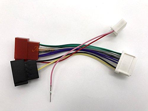 ZWNAV Standard ISO Cablaggio adattatore per Renault 2012 Dacia 2011 Standard ISO Cablaggio Autostereo Tech