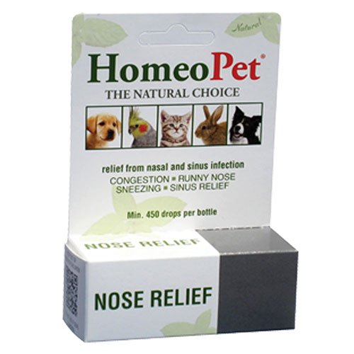(Nose Relief Drops, 15 ml by HomeoPet Solutions (Pack of 2) )