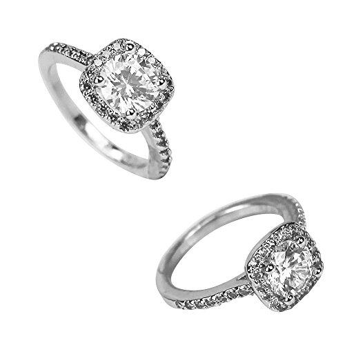 platinum plated ring - 5